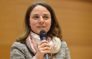 Ministerin Corinne Cahen bei einer UmB-Veranstaktung