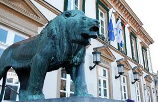 Rathaus der Stadt Luxemburg
